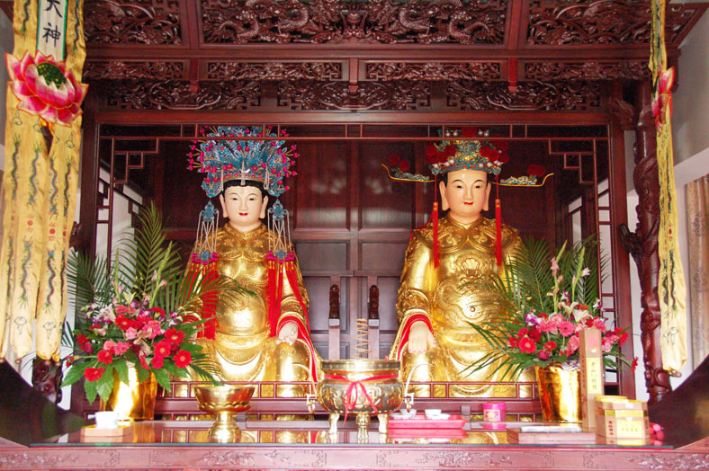 Zhujiajiao Ancient Town Shanghai - City God Temple