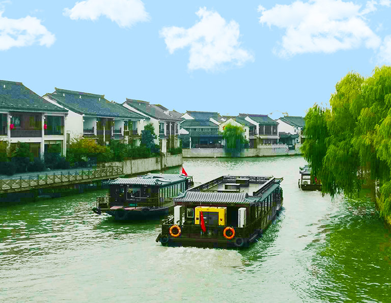 Suzhou Grand Canal Boats