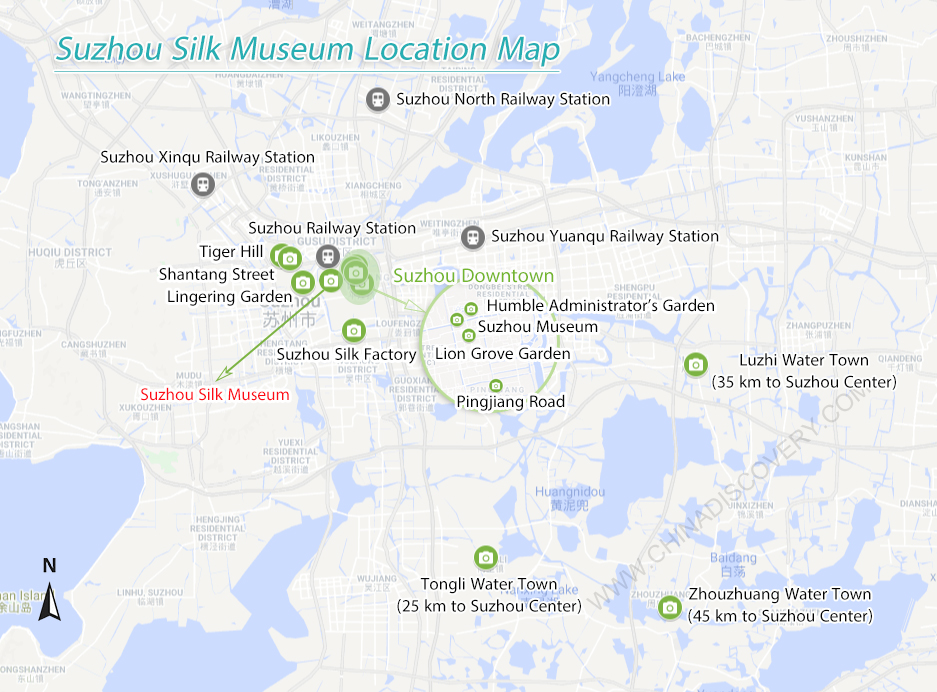 Suzhou Silk Museum Map