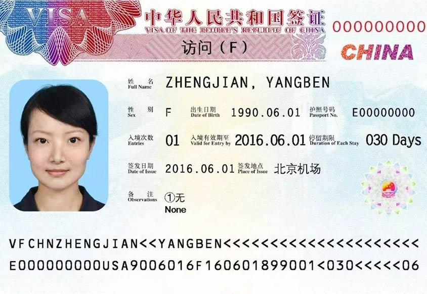 Chinese Visa Introduction