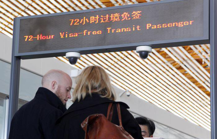 China 72-hour Visa-free Transit