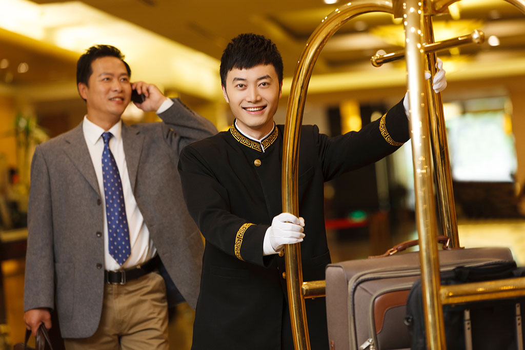 Bellhop in China