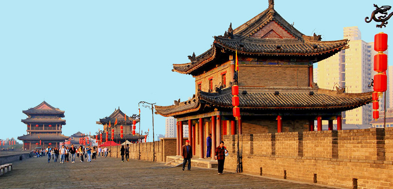 Image result for Xi'an ancient city wall