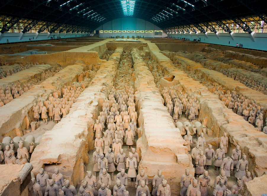 Terracotta Warriors and Horses in Xian