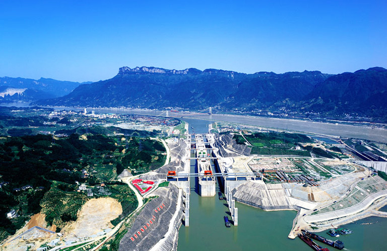 Three Gorges Dam Locks