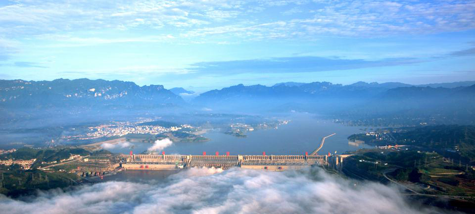 three gorges dam China has unveiled the biggest shiplift in the world at the massive three gorges dam - and the telegraph was among the first media to take a ride in the huge structure.