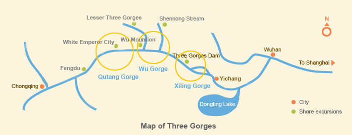Three Gorges Map