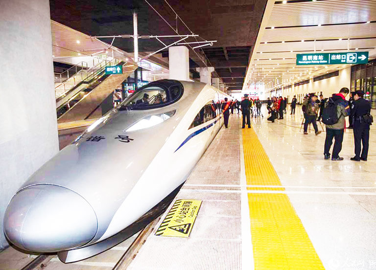 How to Get to Yunnan - Kunming High Speed Train