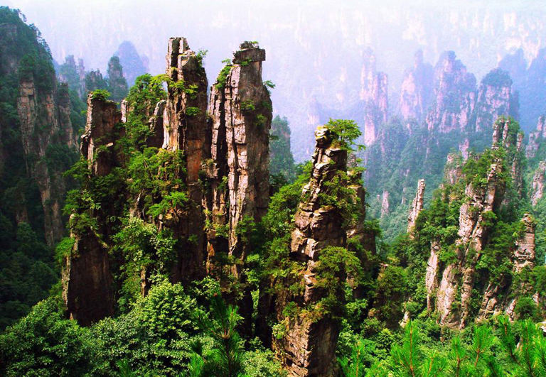 Image result for zhangjiajie forest park