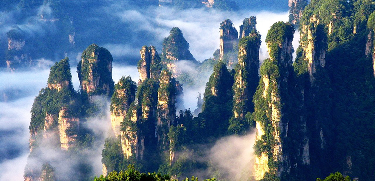 Bien connu Zhangjiajie National Forest Park: Tours, Map & How to Get to  GN69