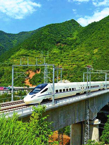 Xian Chengdu High Speed Train Travel