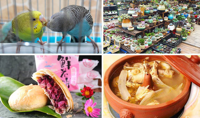 Kunming Bird and Flower Market, Flower Cake, and Steam Pot Chicken, Tour Customized by Wendy