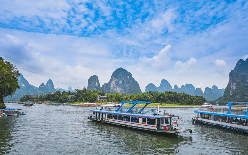 Li River Landscape from Guilin to Yangshuo, Tour Customized by Leo