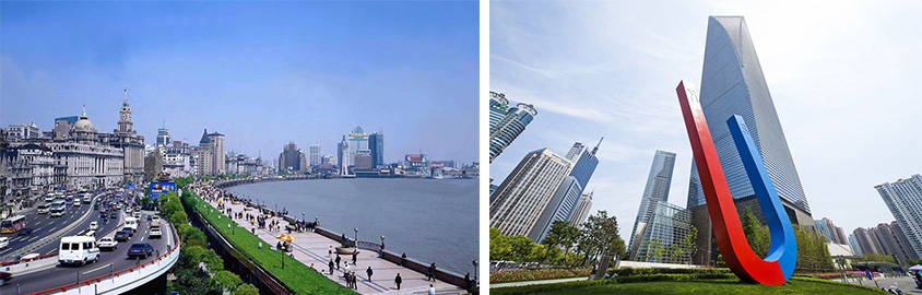 The Bund and Shanghai World Financial Center, Tour Customized by Leo