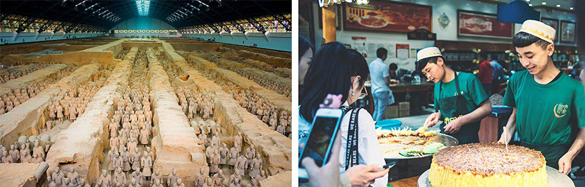 Terracotta Warriors and Muslim Quarter in Xian, Tour Customized by Leo
