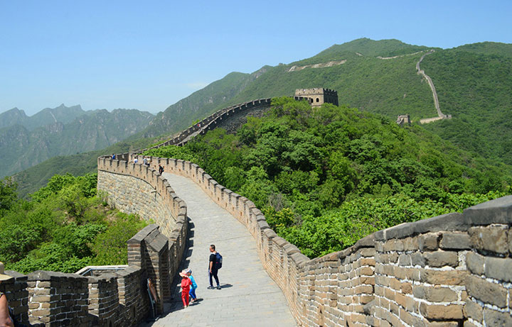 9 Days China Tour to Great Wall