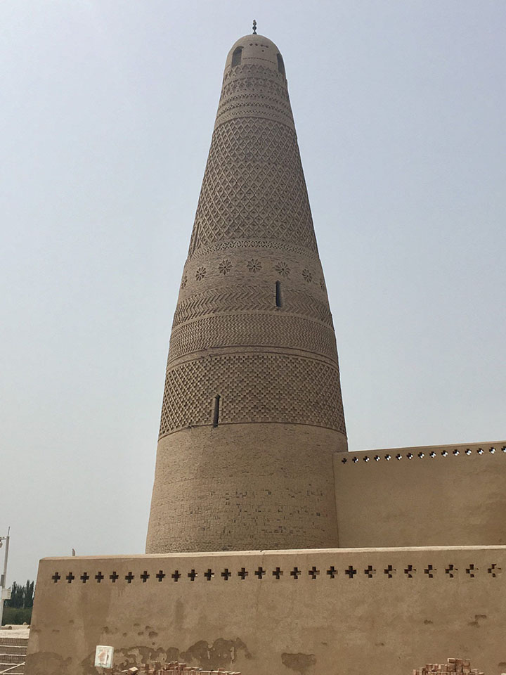 A Close Look at the Minaret, Photo Shared by Monica, Tour Customized by Leo