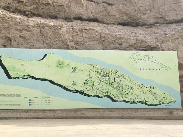 Sketch Map of Jiaohe, Photo Shared by Monica, Tour Customized by Leo