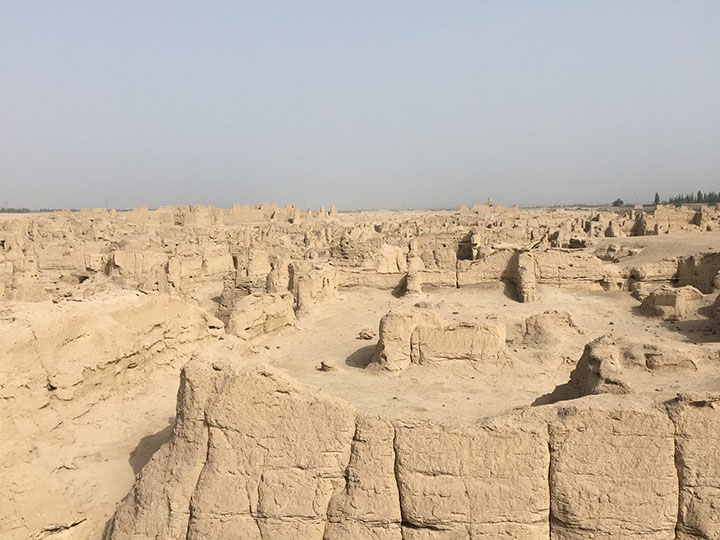 Jiaohe Ancient City, Photo Shared by Monica, Tour Customized by Leo