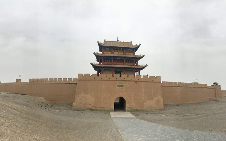 Jiayuguan Pass, Photo Shared by Monica, Tour Customized by Leo