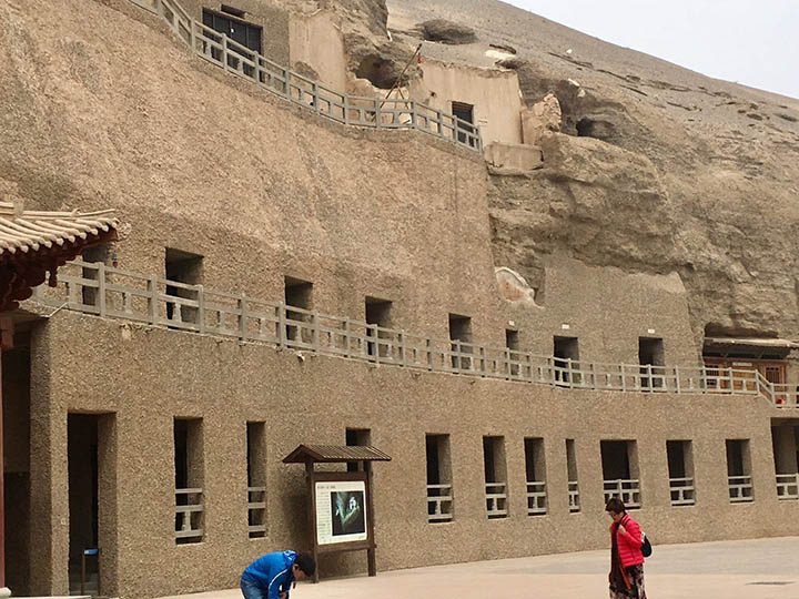 Different Caves in Mogao Grottoes, Photo Shared by Monica, Tour Customized by Leo