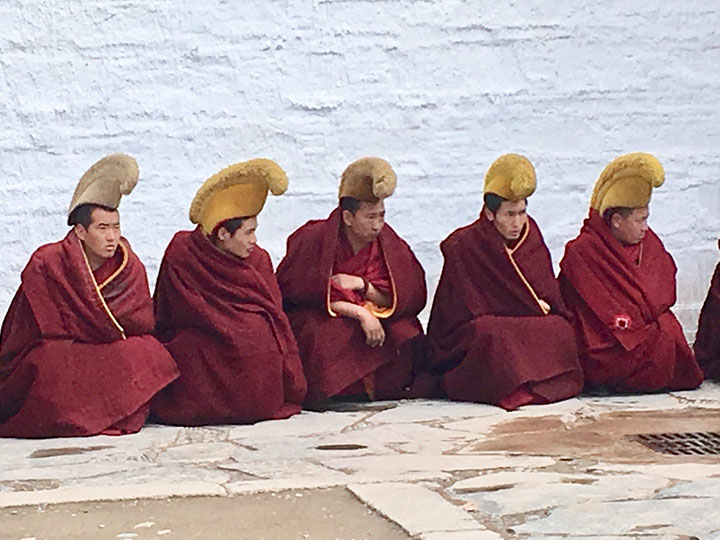 Monks in Labrang Monastery, Photo Shared by Monica, Tour Customized by Leo