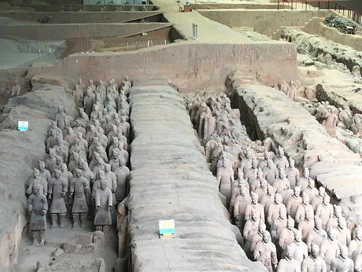 Terracotta Warriors, Photo Shared by Monica, Tour Customized by Leo