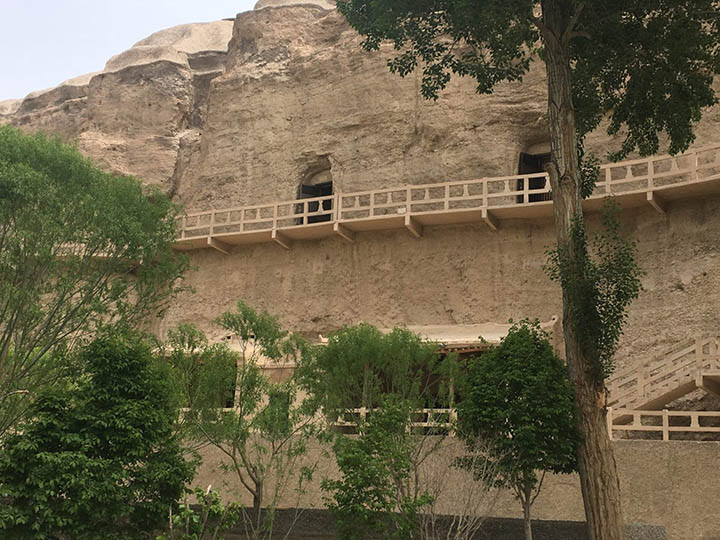 Yulin Grottoes, Photo Shared by Monica, Tour Customized by Leo