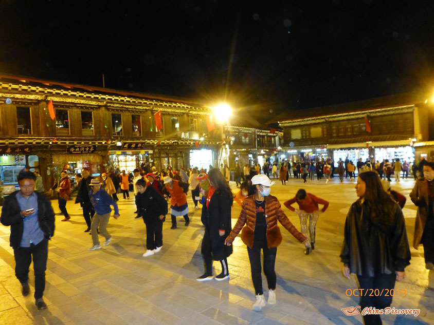 Dancing at Arro Khampa, Photo Shared by Steve, Tour Customized by Leo