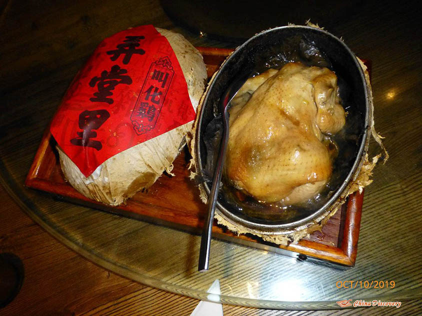 Beggar's Chicken at Nong Tang Li, Photo Shared by Steve, Tour Customized by Leo
