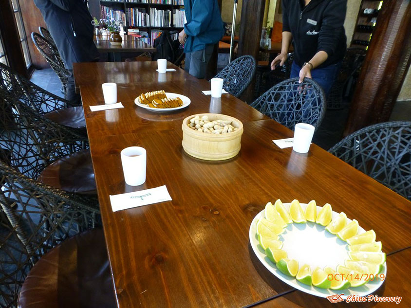 Fruits and Snacks Provided by The Bivou, Photo Shared by Steve, Tour Customized by Leo