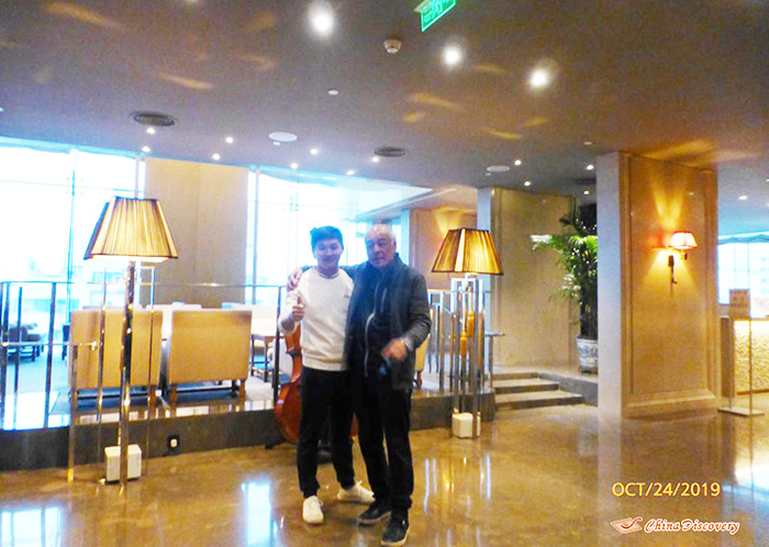 Steve Met Leo in Chengdu, Photo Shared by Steve, Tour Customized by Leo