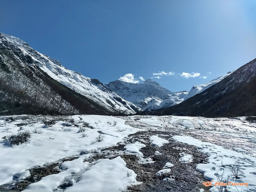 Melting Snow at Jiuzhaigou Natural Reserve, Photo Shared by Steve, Tour Customized by Leo