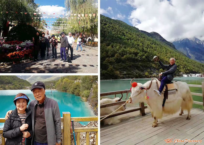 Steve and His Family & Friends Spent a Happy Time in Lijiang, Photo Shared by Steve, Tour Customized by Leo