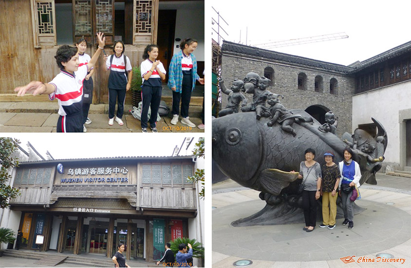 Visiting Wuzhen and Encounting High School Students from Xinjiang, Photo Shared by Steve, Tour Customized by Leo