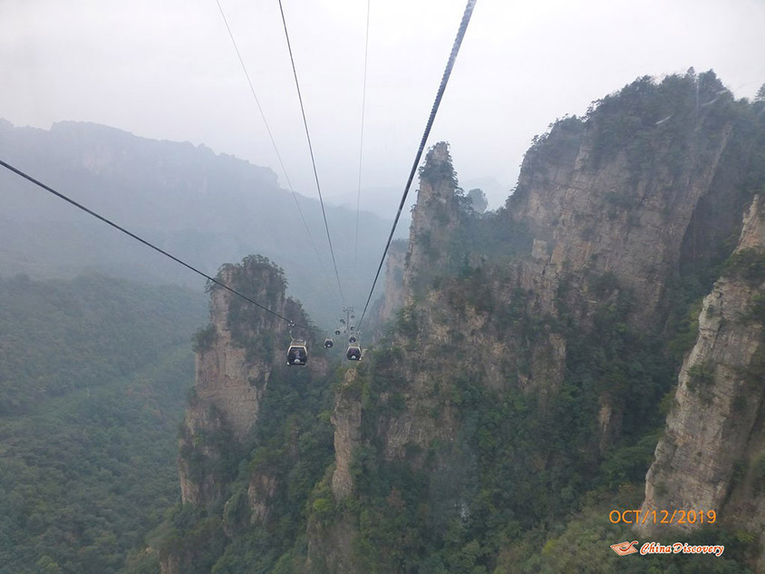 Tianmen Mountain Cableway in Zhangjiajie, Photo Shared by Steve, Tour Customized by Leo