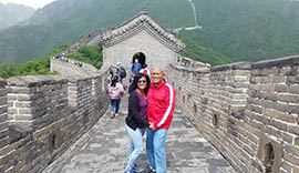 Winston's Couple Tour to 9 Cities all around China plus Yangtze Cruise