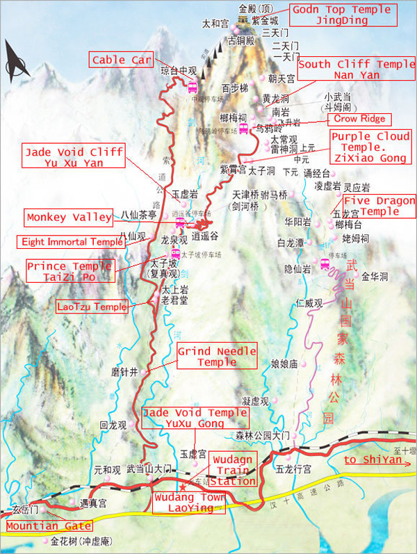 things to do on wudang mountain wudang mountain attractions