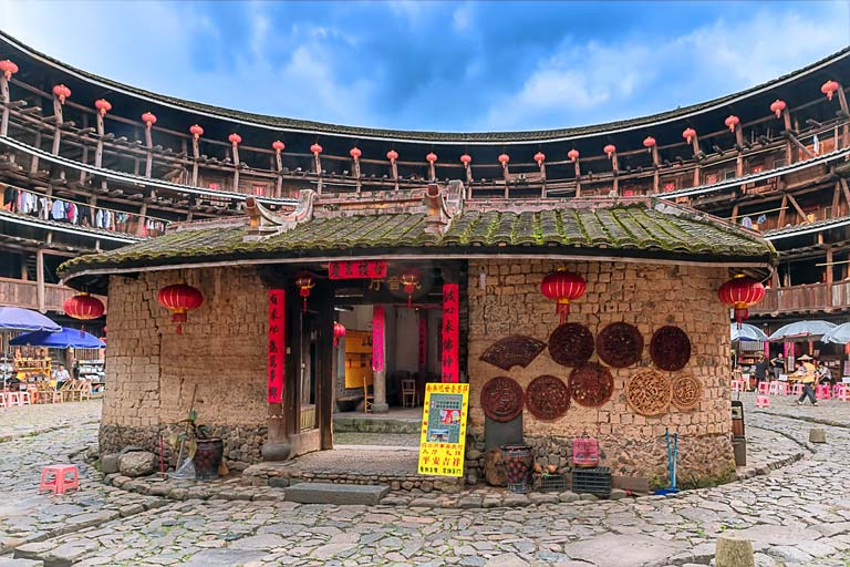 Yuchang Tower in Nanjing Tulou