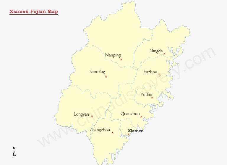 Xiamen Maps Xiamen Fujian Map Xiamen China Map