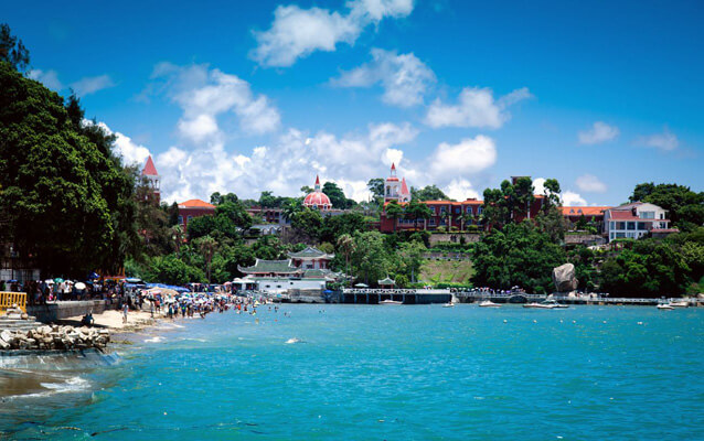 Amazing Beach of Gulangyu Island