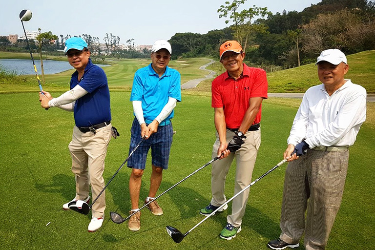 Play Golf in Xiamen