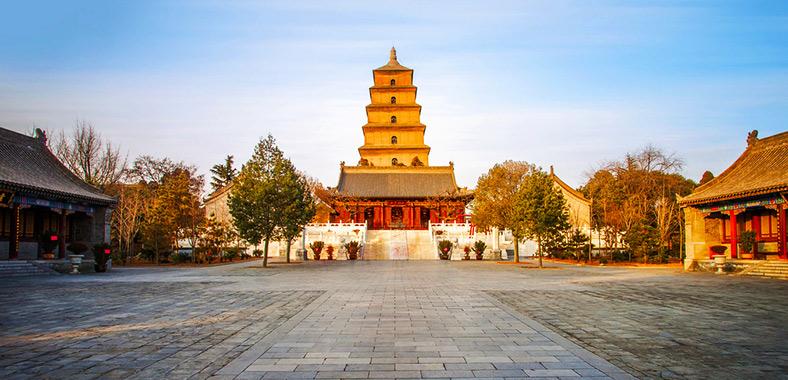 Giant Wild Goose Pagoda (Dayanta) - Xian Attractions
