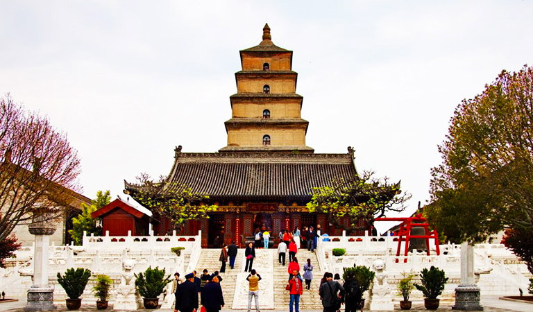 Image result for giant wild goose pagoda