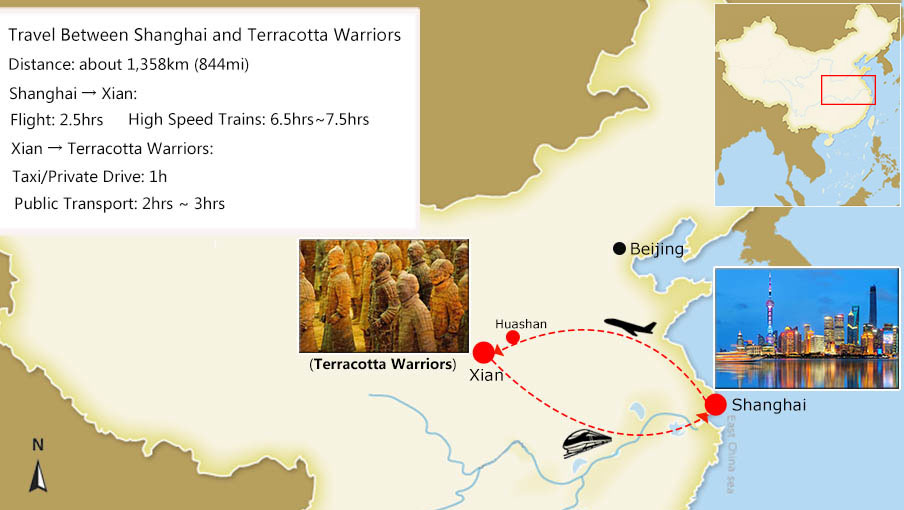 Terracotta Warriors Tours from Shanghai