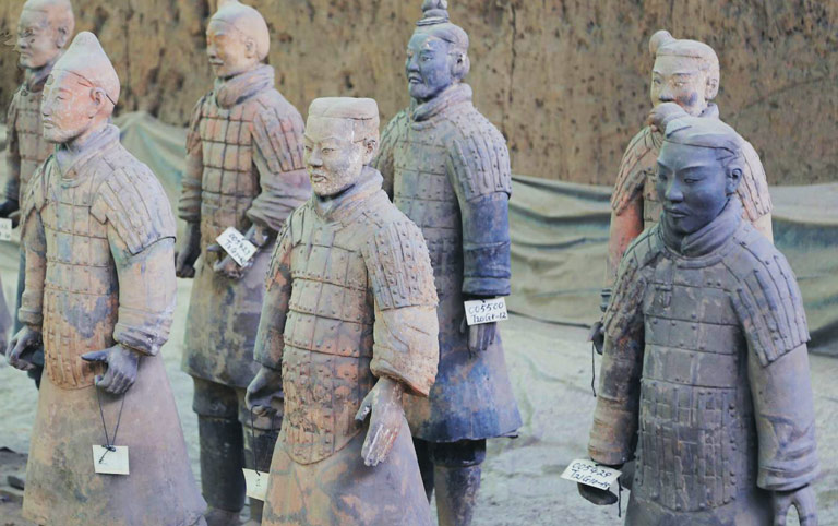 Amazing Different Terra Cotta Warriors