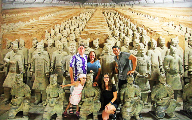 Witness the countless Terracotta Warriors