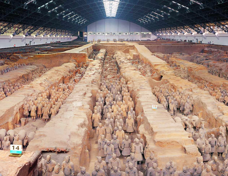 Terracotta Warriors Pit One