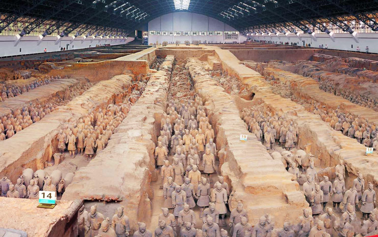 Terra Cotta Warriors Pit One