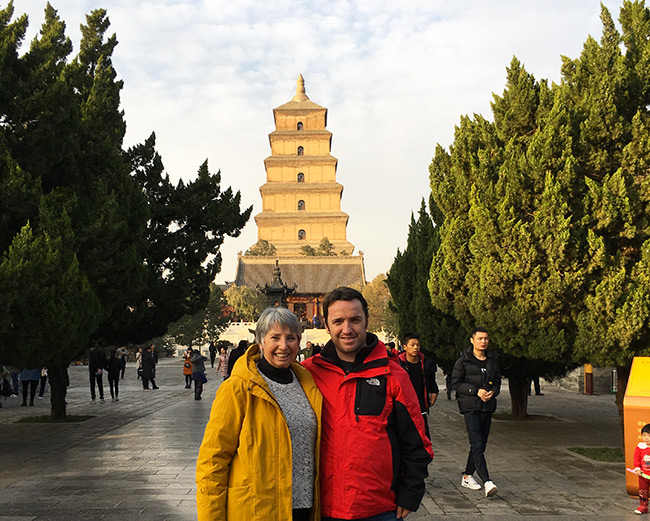 Winter in Xian